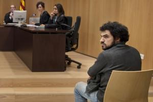 Enric duran à son proces civil avec la banque BBVA, 18/11/2011